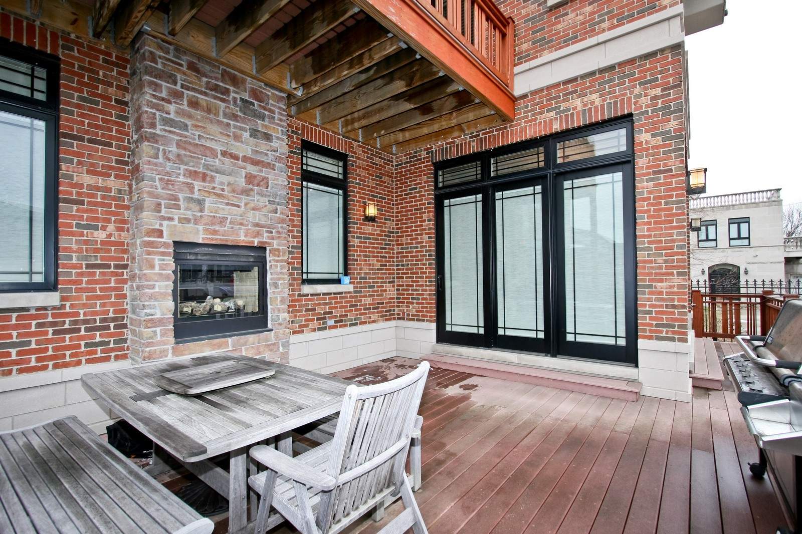 Real Estate Photography - 444 W. 38th Street, Chicago, IL, 60609 - Deck