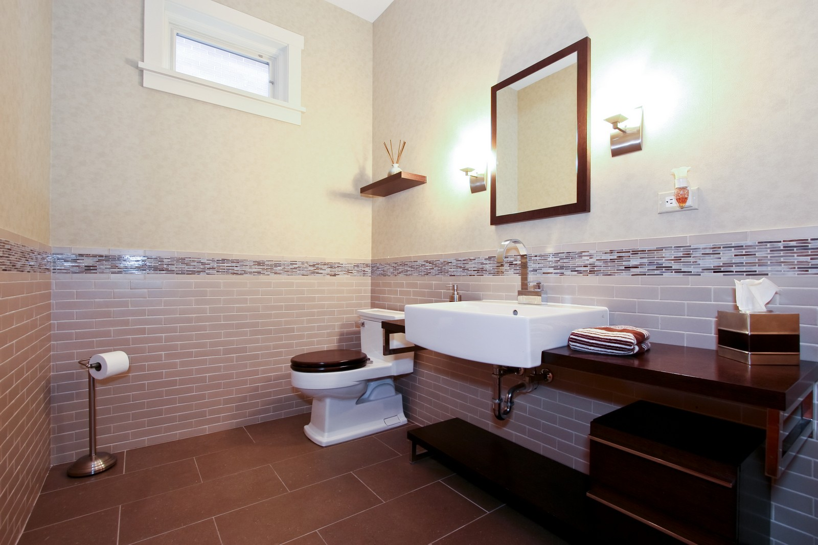 Real Estate Photography - 444 W. 38th Street, Chicago, IL, 60609 - Half Bath
