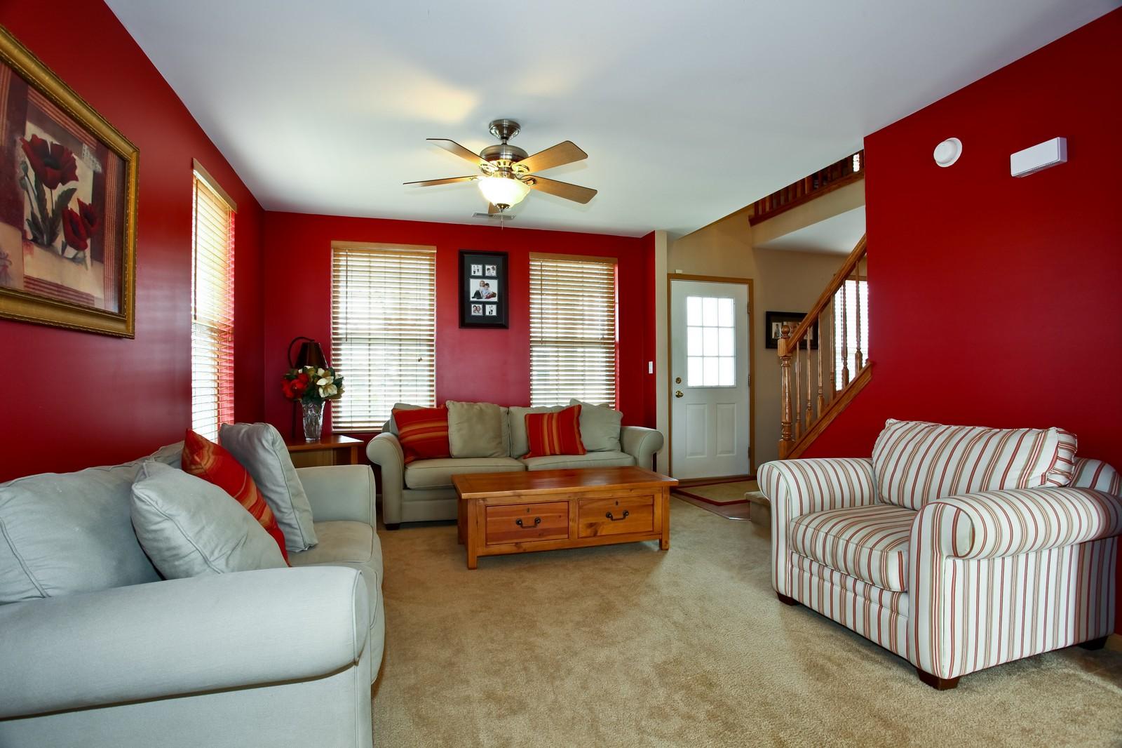 Real Estate Photography - 1745 Rebecca Lane, Aurora, IL, 60504 - Family Room