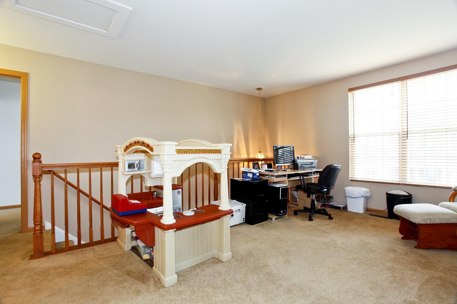 Real Estate Photography - 1745 Rebecca Lane, Aurora, IL, 60504 - Loft