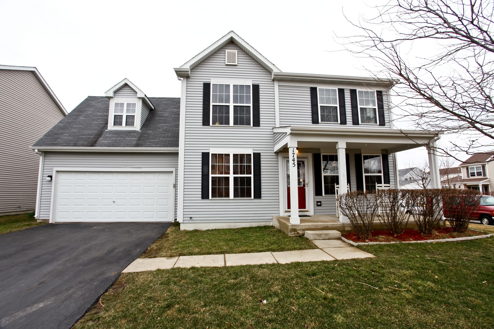 Real Estate Photography - 1745 Rebecca Lane, Aurora, IL, 60504 - Front View