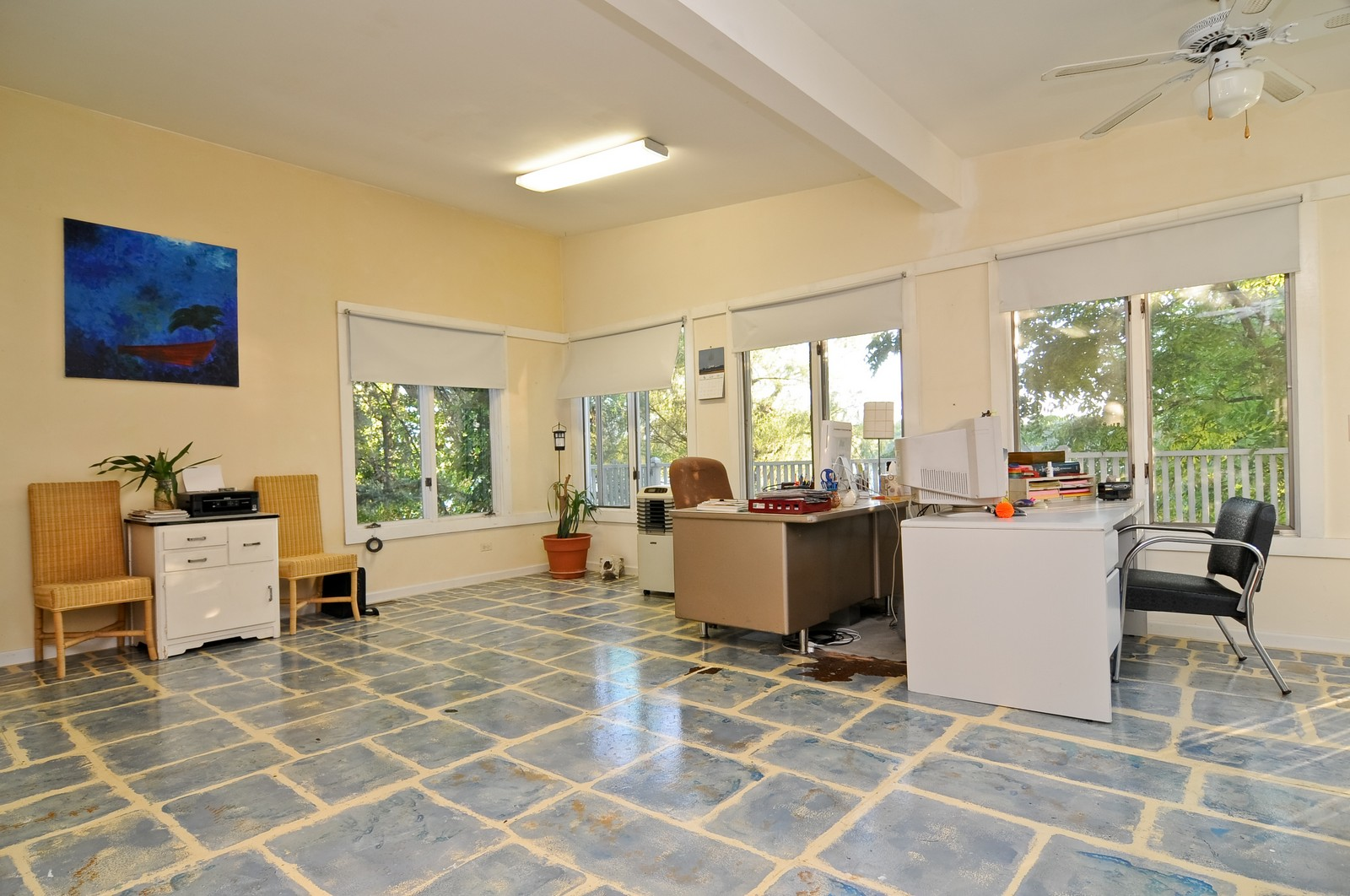 Real Estate Photography - 158 S. Lake, Grayslake, IL, 60030 - Office