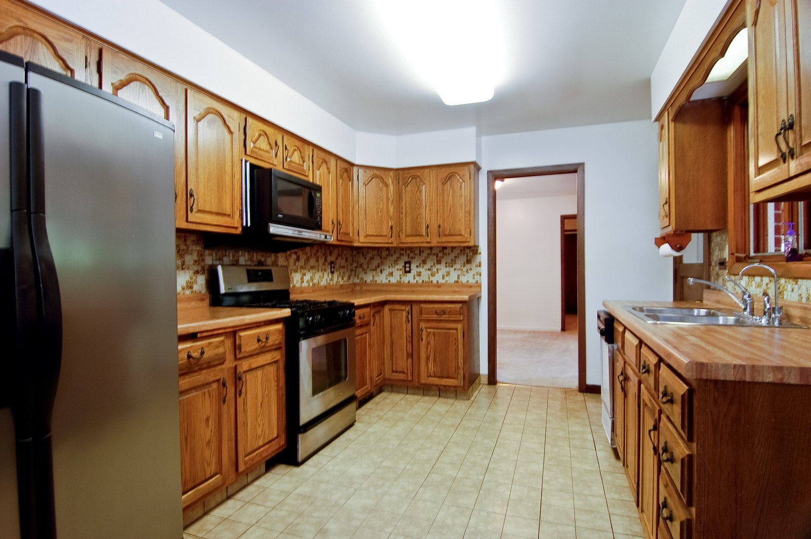 Real Estate Photography - 111 N. Dale, Prospect Heights, IL, 60070 - Kitchen