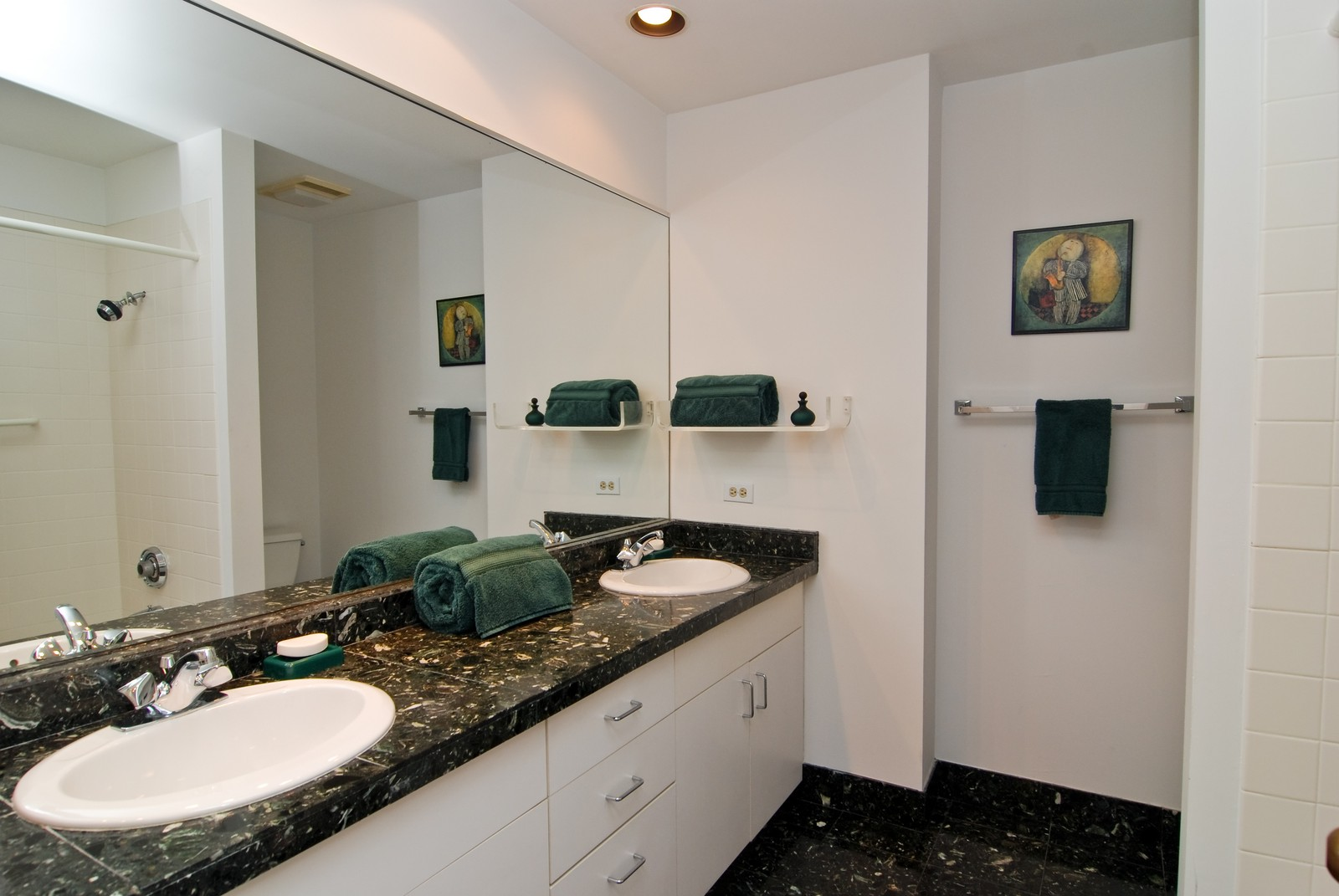 Real Estate Photography - 1720 N LaSalle, 25, Chicago, IL, 60614 - 2nd Bathroom