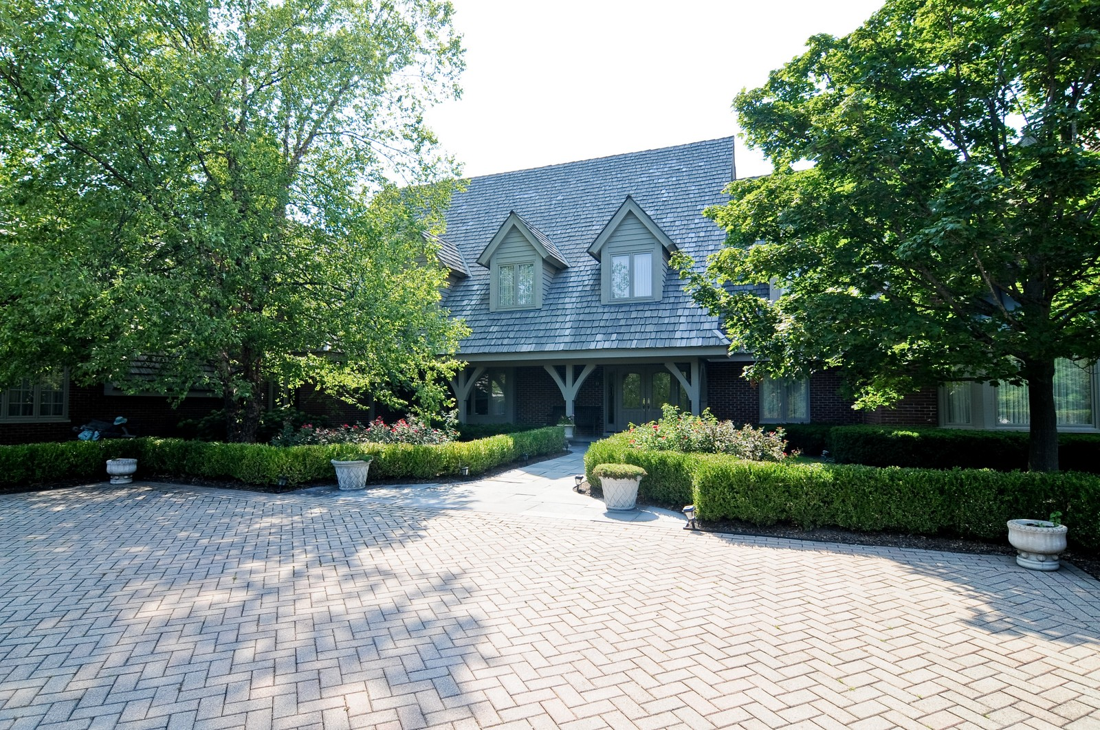 Real Estate Photography - 1390 Kathryn, Lake Forest, IL, 60045 - Front View