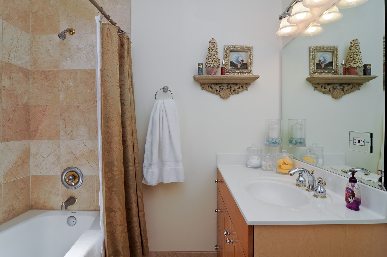 Real Estate Photography - 4912 N. St. Louis Ave, 2S, Chicago, IL, 60625 - Master Bathroom