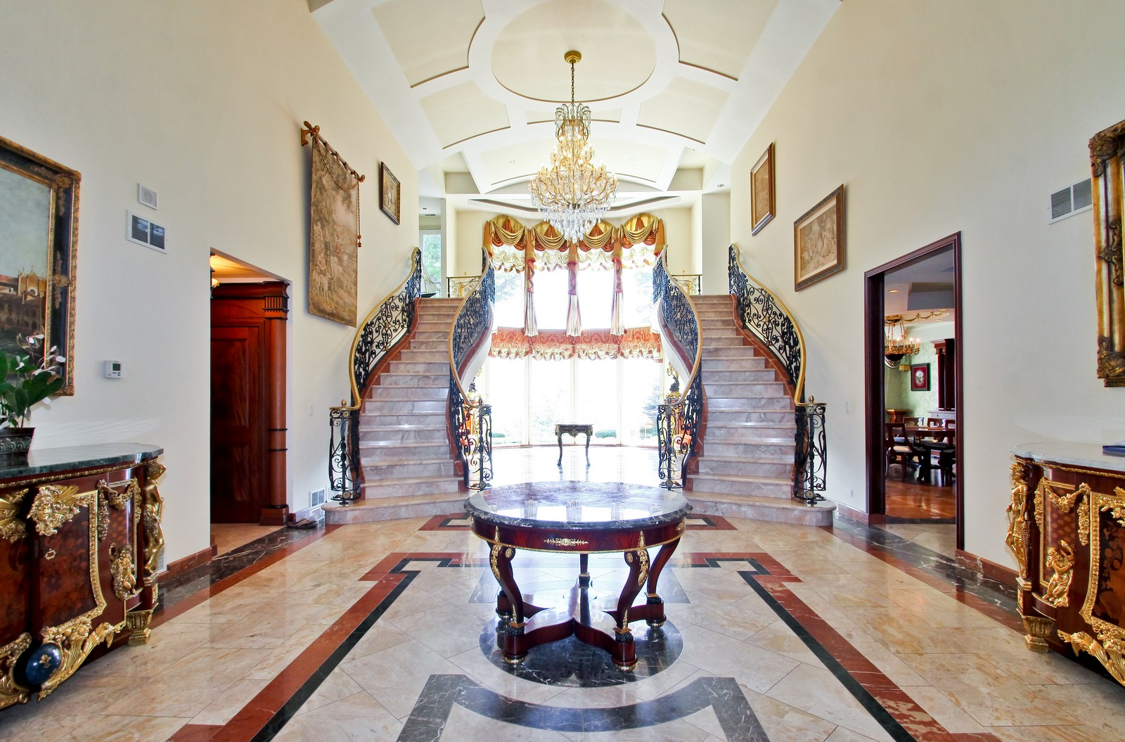 Real Estate Photography - 985 Sheridan Road, Highland Park, IL, 60035 - Foyer