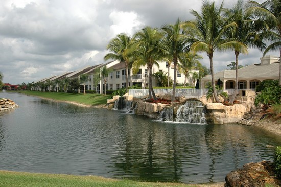 Real Estate Photography - 5653 Whisperwood Blvd, Unit 303, Naples, FL, 34110 - Clubhouse
