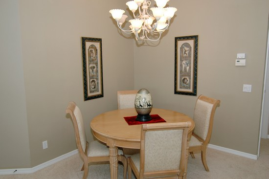 Real Estate Photography - 5653 Whisperwood Blvd, Unit 303, Naples, FL, 34110 - Dining Room