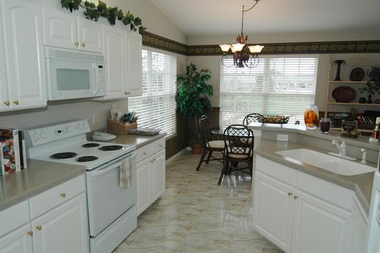 Real Estate Photography - 5653 Whisperwood Blvd, Unit 303, Naples, FL, 34110 - Kitchen