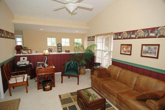Real Estate Photography - 5653 Whisperwood Blvd, Unit 303, Naples, FL, 34110 - Den