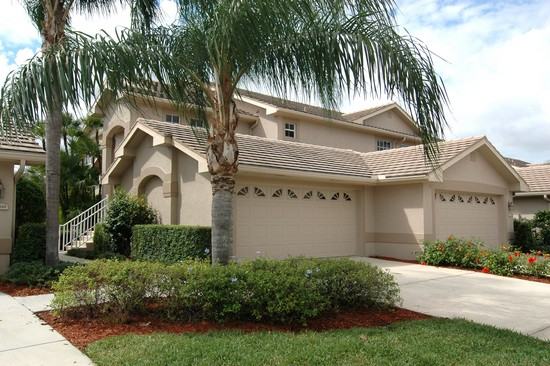 Real Estate Photography - 5653 Whisperwood Blvd, Unit 303, Naples, FL, 34110 - Front View