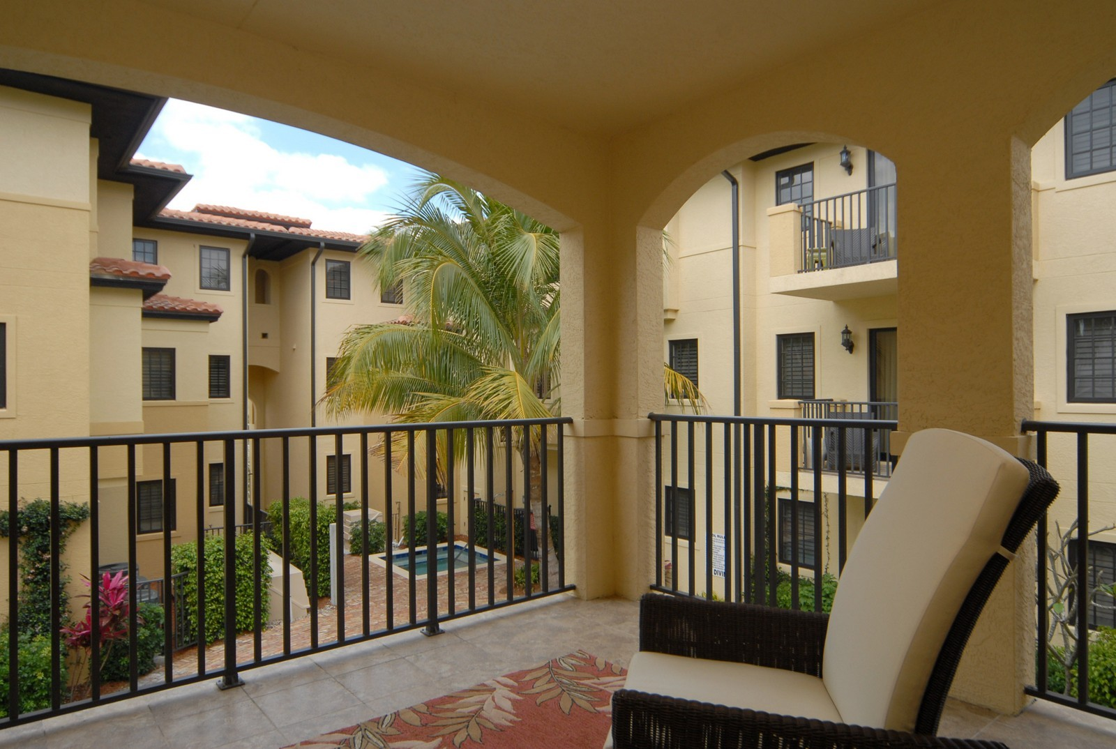 Real Estate Photography - 250 5th Ave S, Unit 203, Naples, FL, 34102 - Lanai