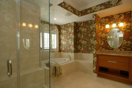 Real Estate Photography - 250 5th Ave S, Unit 203, Naples, FL, 34102 - Master Bathroom