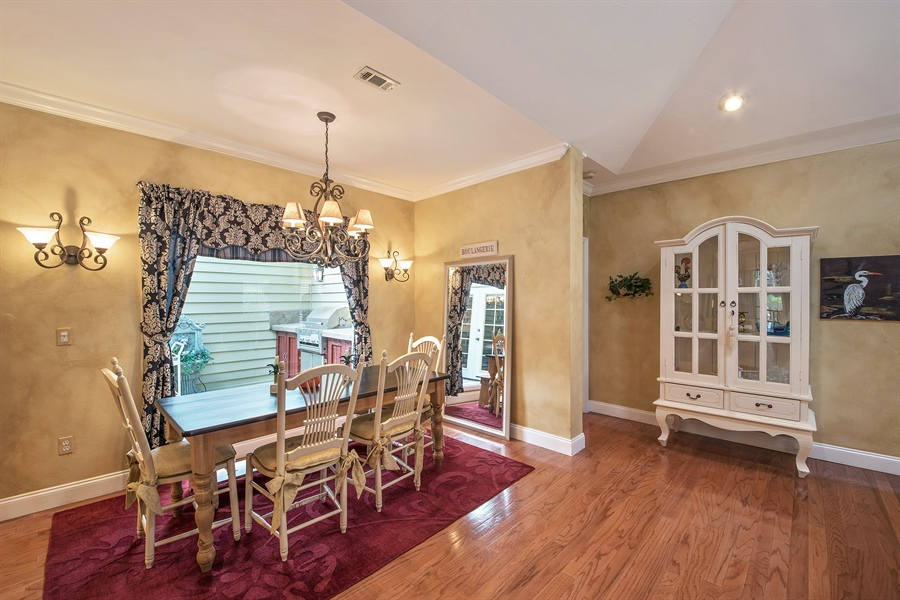 Real Estate Photography - 14 Golf Cottage Drive, naples, FL, 34105 - Dining Room