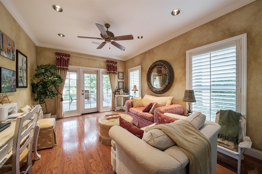 Real Estate Photography - 14 Golf Cottage Drive, naples, FL, 34105 - Family Room