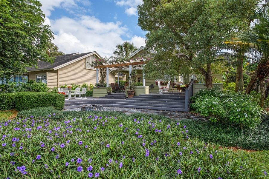 Real Estate Photography - 14 Golf Cottage Drive, naples, FL, 34105 - Rear View