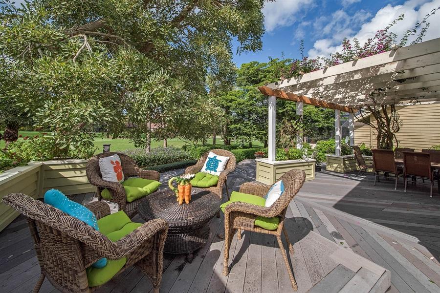 Real Estate Photography - 14 Golf Cottage Drive, naples, FL, 34105 - Deck