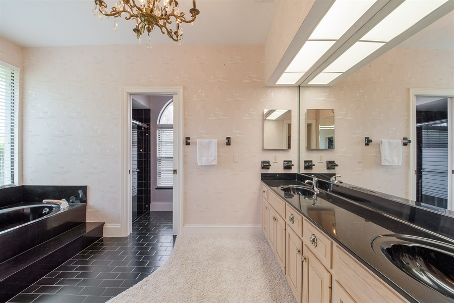 Real Estate Photography - 2211 Imperial Golf Course Blvd, Naples, FL, 34110 - Master Bathroom