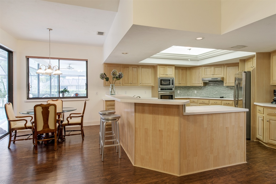 Real Estate Photography - 2211 Imperial Golf Course Blvd, Naples, FL, 34110 - Kitchen / Breakfast Room