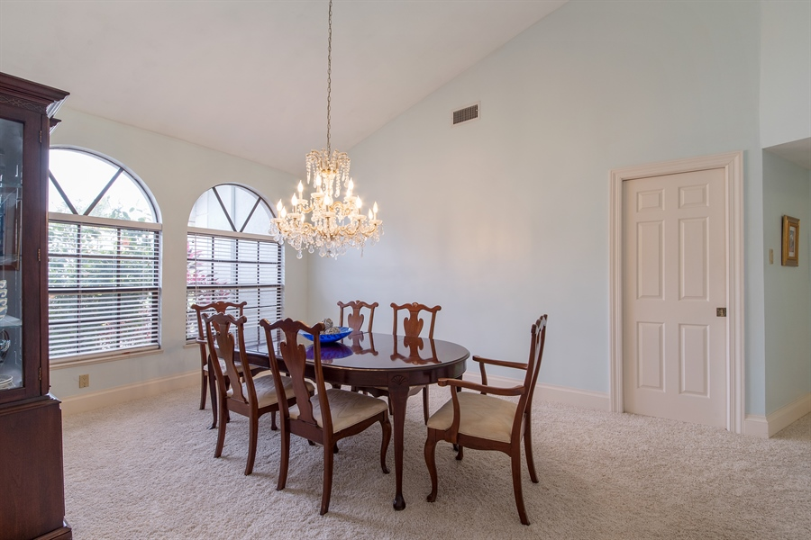 Real Estate Photography - 2211 Imperial Golf Course Blvd, Naples, FL, 34110 - Dining Room