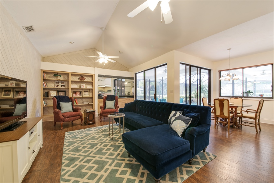 Real Estate Photography - 2211 Imperial Golf Course Blvd, Naples, FL, 34110 - Family Room