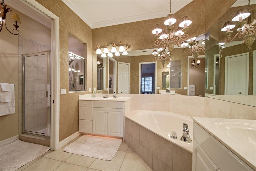 Real Estate Photography - 1935 Seville Blvd, 121, Naples, FL, 34109 - Master Bathroom