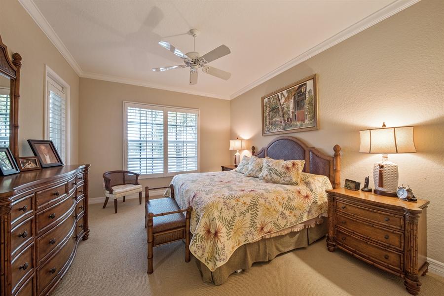 Real Estate Photography - 1935 Seville Blvd, 121, Naples, FL, 34109 - Master Bedroom