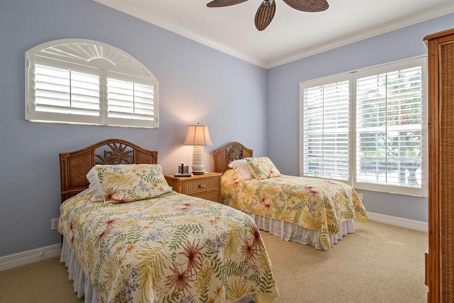 Real Estate Photography - 1935 Seville Blvd, 121, Naples, FL, 34109 - 3rd Bedroom