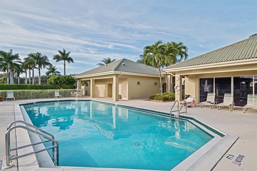 Real Estate Photography - 1935 Seville Blvd, 121, Naples, FL, 34109 - Pool