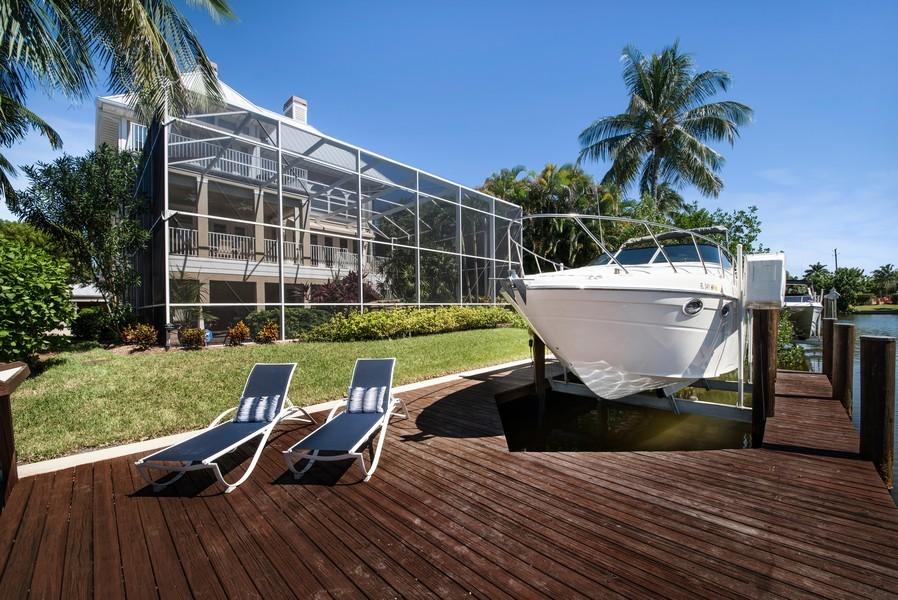 Real Estate Photography - 430 Willet, Naples, FL, 34108 - Dock