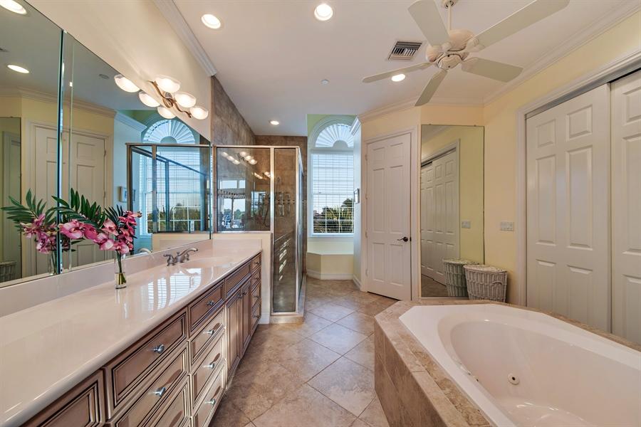Real Estate Photography - 430 Willet, Naples, FL, 34108 - Master Bathroom