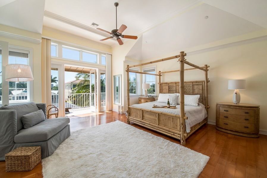 Real Estate Photography - 430 Willet, Naples, FL, 34108 - Master Bedroom
