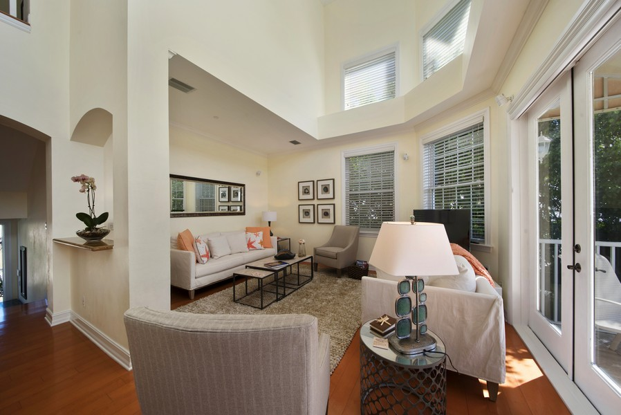 Real Estate Photography - 430 Willet, Naples, FL, 34108 - Foyer/Living Room