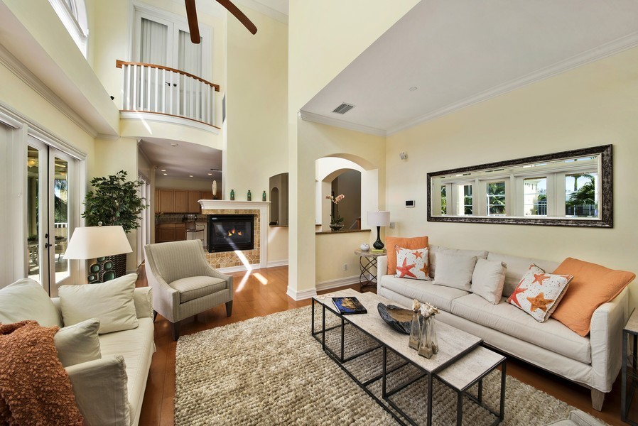 Real Estate Photography - 430 Willet, Naples, FL, 34108 - Living Room