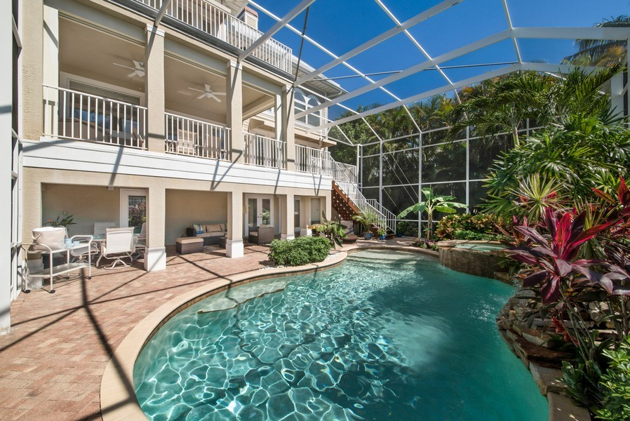 Real Estate Photography - 430 Willet, Naples, FL, 34108 - Rear View
