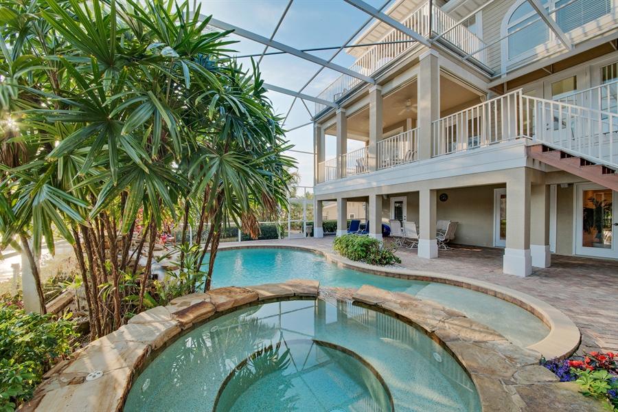 Real Estate Photography - 430 Willet, Naples, FL, 34108 - Lanai