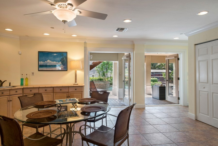 Real Estate Photography - 430 Willet, Naples, FL, 34108 - Downstairs Rec room