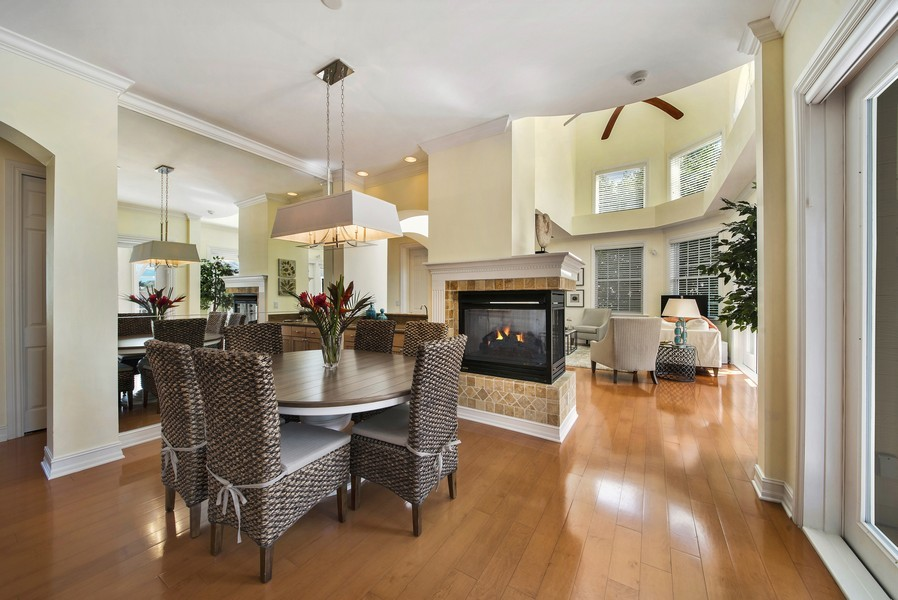 Real Estate Photography - 430 Willet, Naples, FL, 34108 - Living Room / Dining Room