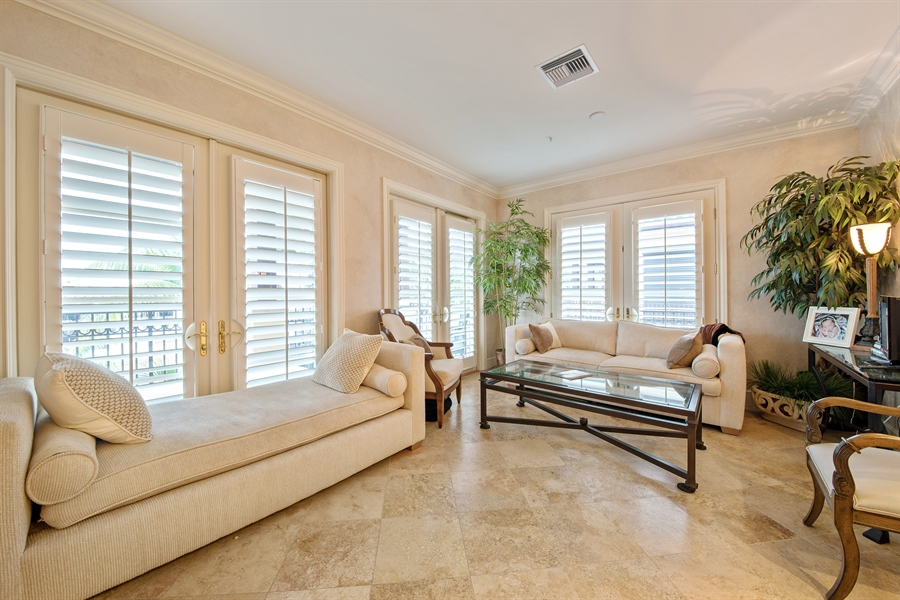 Real Estate Photography - 780 S 5th Ave, Naples, FL, 34102 - Living Room