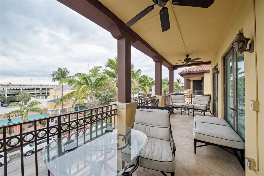 Real Estate Photography - 780 S 5th Ave, Naples, FL, 34102 - Balcony