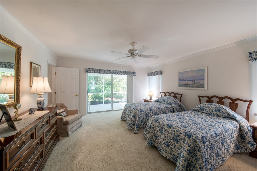 Real Estate Photography - 2095 Imperial Circle, Naples, FL, 34110 - Master Bedroom