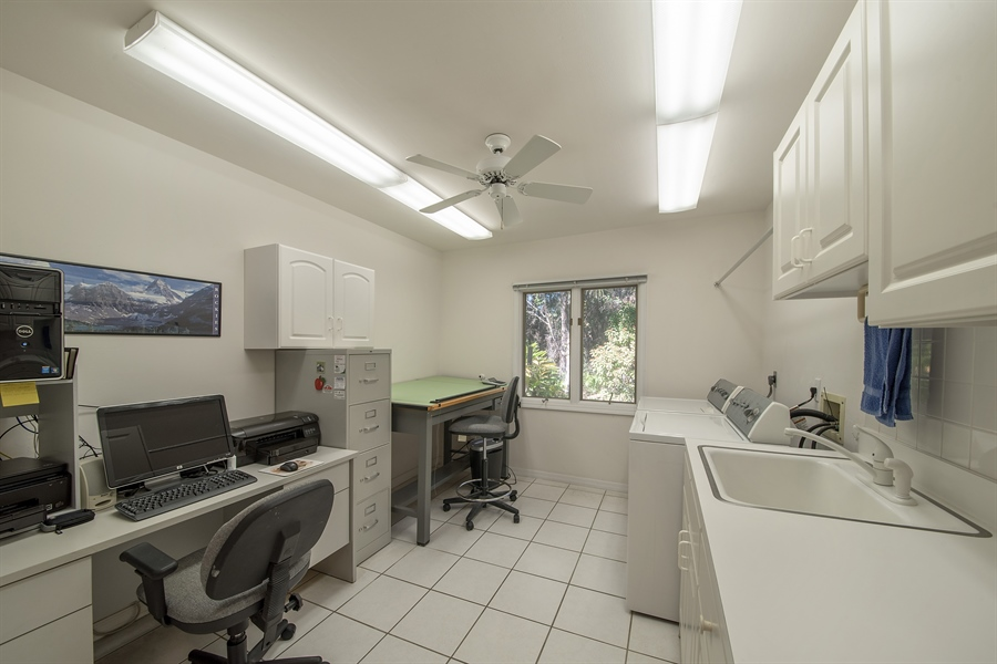 Real Estate Photography - 2095 Imperial Circle, Naples, FL, 34110 - Laundry Room