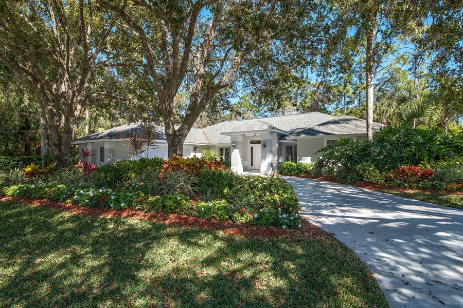 Real Estate Photography - 2095 Imperial Circle, Naples, FL, 34110 - Front View