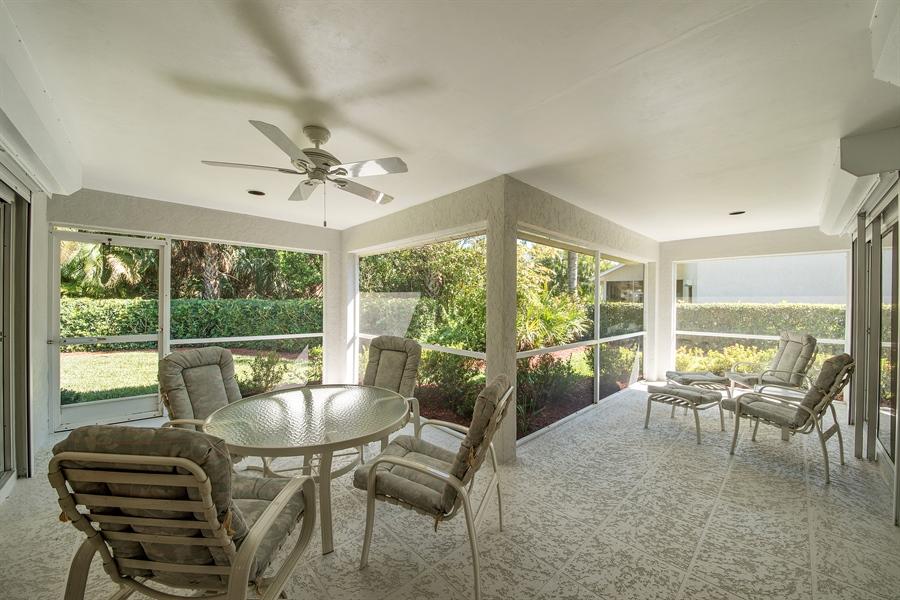 Real Estate Photography - 2095 Imperial Circle, Naples, FL, 34110 - Lanai