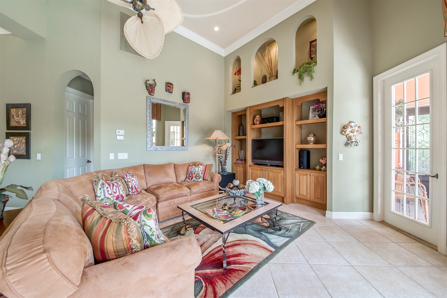 Real Estate Photography - 3071 TERRAMAR DR, NAPLES, FL, 34119 - Family Room