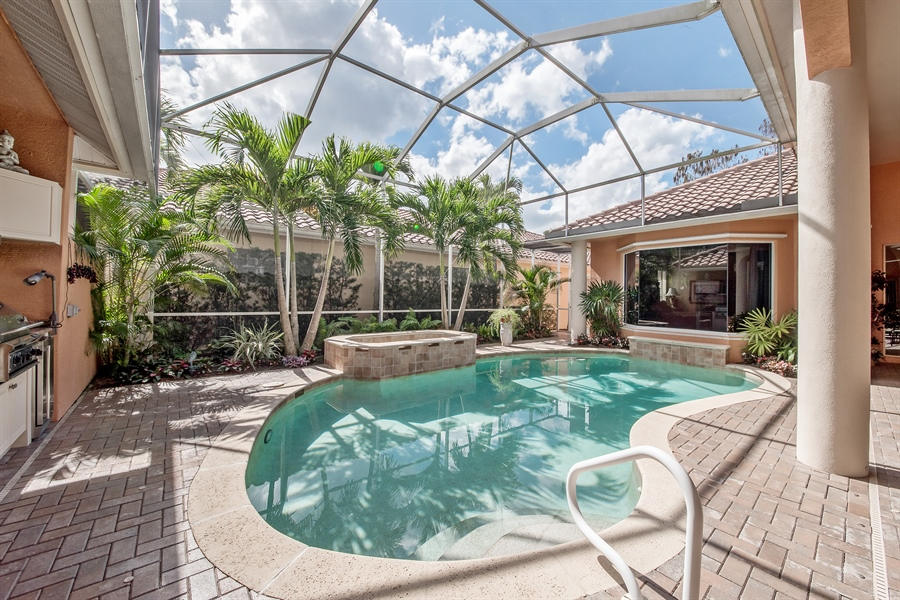 Real Estate Photography - 3071 TERRAMAR DR, NAPLES, FL, 34119 - Pool/Spa