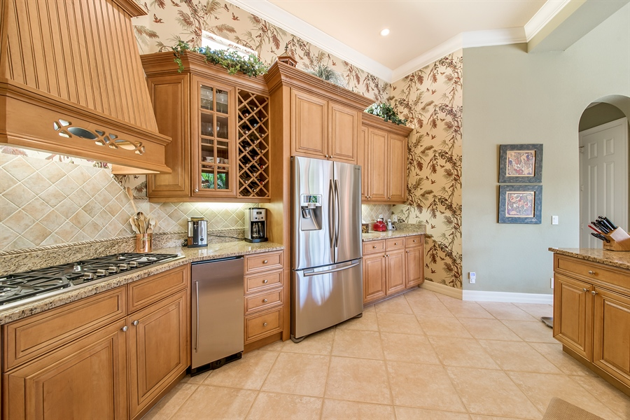 Real Estate Photography - 3071 TERRAMAR DR, NAPLES, FL, 34119 - Kitchen
