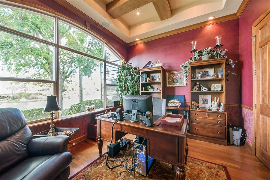 Real Estate Photography - 3071 TERRAMAR DR, NAPLES, FL, 34119 - Office