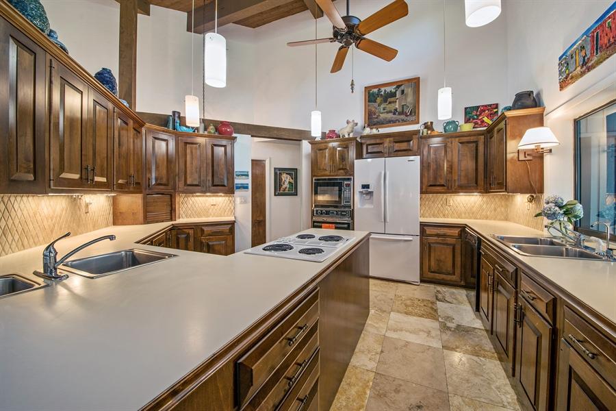 Real Estate Photography - 1818 Princess Ct, Naples, FL, 34110 - Kitchen